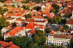 城市考纳斯立陶宛 免版税图库摄影