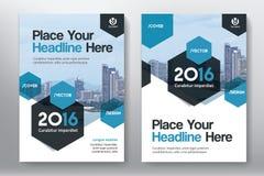 城市背景企业书套在A4的设计模板 免版税库存图片