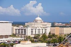 城市胡安・波多里哥圣 免版税库存图片