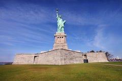 城市自由新的雕象约克 图库摄影