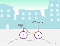 城市自行车 库存图片