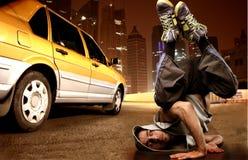 城市舞蹈 免版税库存照片