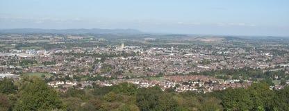 城市英国格洛斯特 库存照片