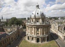 城市英国老牛津塔 免版税图库摄影