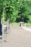 城市莫斯科室外公园 免版税库存图片