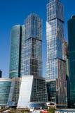 城市莫斯科摩天大楼 免版税库存图片