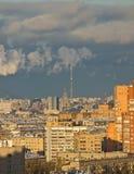 城市莫斯科视图 免版税库存图片