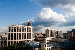 城市莫斯科 库存图片