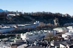 城市萨尔茨堡 图库摄影