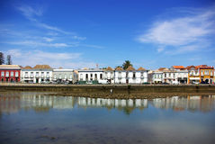 城市葡萄牙tavira 库存照片