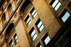 城市街市堪萨斯 库存照片