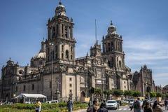 城市街市墨西哥 库存图片