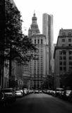城市街市纽约 免版税库存图片