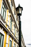 城市街道灯笼 库存图片