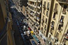 城市街道-开罗-埃及 库存图片