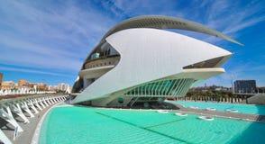 城市西班牙巴伦西亚 图库摄影
