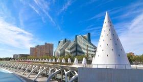 城市西班牙巴伦西亚 免版税图库摄影