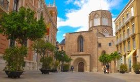 城市西班牙巴伦西亚 免版税库存图片