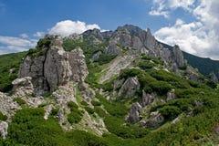 城市西部岩石的tatras 库存图片