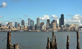 城市西雅图地平线 免版税库存图片
