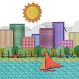 城市视图   免版税库存图片