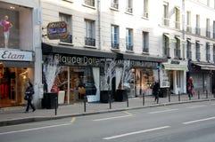 巴黎城市视图  免版税库存照片