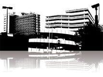 城市证券 免版税库存照片