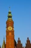 城市详述大厅波兰wroclaw 免版税图库摄影