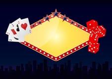 城市赌博娱乐场 免版税库存图片