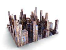 城市远期 库存图片
