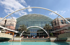 城市迪拜节日购物中心购物 库存图片