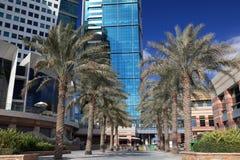 城市迪拜节日购物中心购物 免版税图库摄影