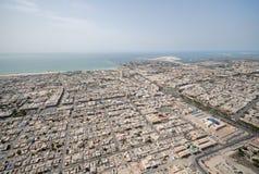 城市迪拜satwa 库存照片