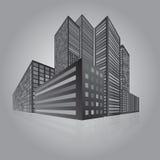 城市透视 库存图片