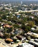 城市邻里西班牙语城镇 免版税库存图片