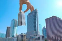 城市都市管理的计划 库存图片