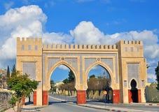 城市门, Fes,摩洛哥 库存照片