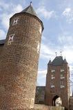 城市门Klever突岩,桑腾,德国 免版税库存图片