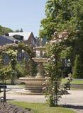 城市风景在诺曼底 免版税库存照片