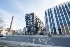 城市风景,塔林,爱沙尼亚 图库摄影