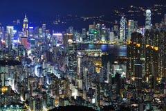 城市香港 免版税库存照片