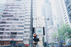 城市香港 免版税图库摄影