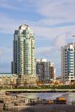 城市高层 免版税图库摄影
