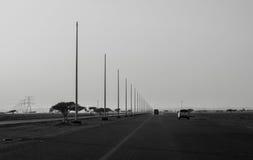城市高速公路路 免版税库存照片