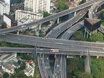 城市高速公路 免版税库存照片