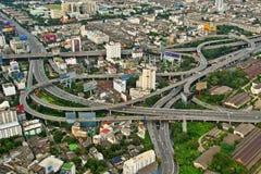 城市高速公路 库存照片
