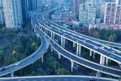 城市高速公路 影视素材