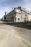 城市魁北克街道 免版税库存照片