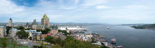 城市魁北克 免版税图库摄影