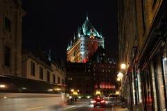 城市魁北克 免版税库存图片
